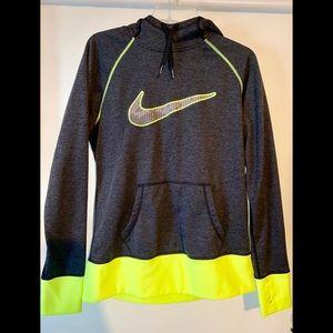 Nike dry-fit funnel neck hoodie